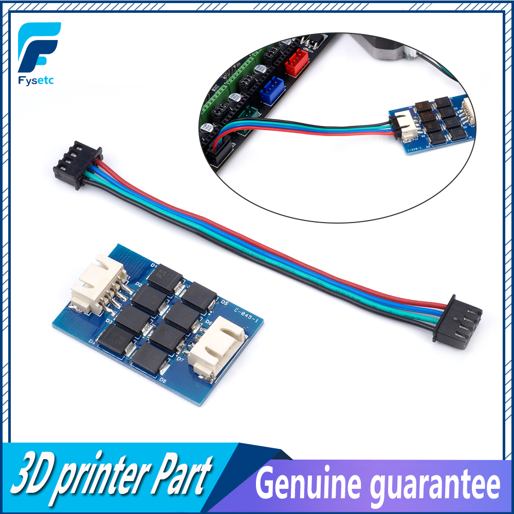 4pcs TL-smoother PLUS Addon Module Motor-Smoother- V2 For 3D Printer Motor Drivers Motor Driver Terminator MK8 I3