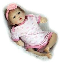 Reborn boneca de Presente Para Crianças Brinquedos Casa de Brincar de Casinha Brinquedos Crianças Playmate SDK-7R1 Americano Meninas Bebês Brinquedos Renascer Bebe