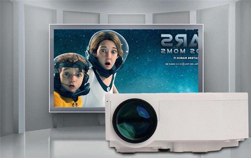 UC30 Mini portable projector Pico Projector AV VGA A/V USB & SD with VGA HDMI Projector mini beamer