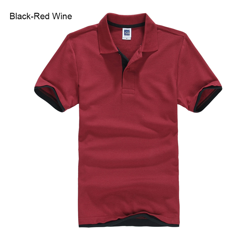 Brand New Men's Polo Shirt High Quality Men Cotton Short Sleeve shirt Brands jerseys Summer Mens polo Shirts 119