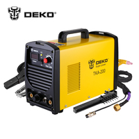DEKO TKA 200 200A 5 8KVA IP21S Inverter Arc TIG 2 IN 1 Electric Welding Machine
