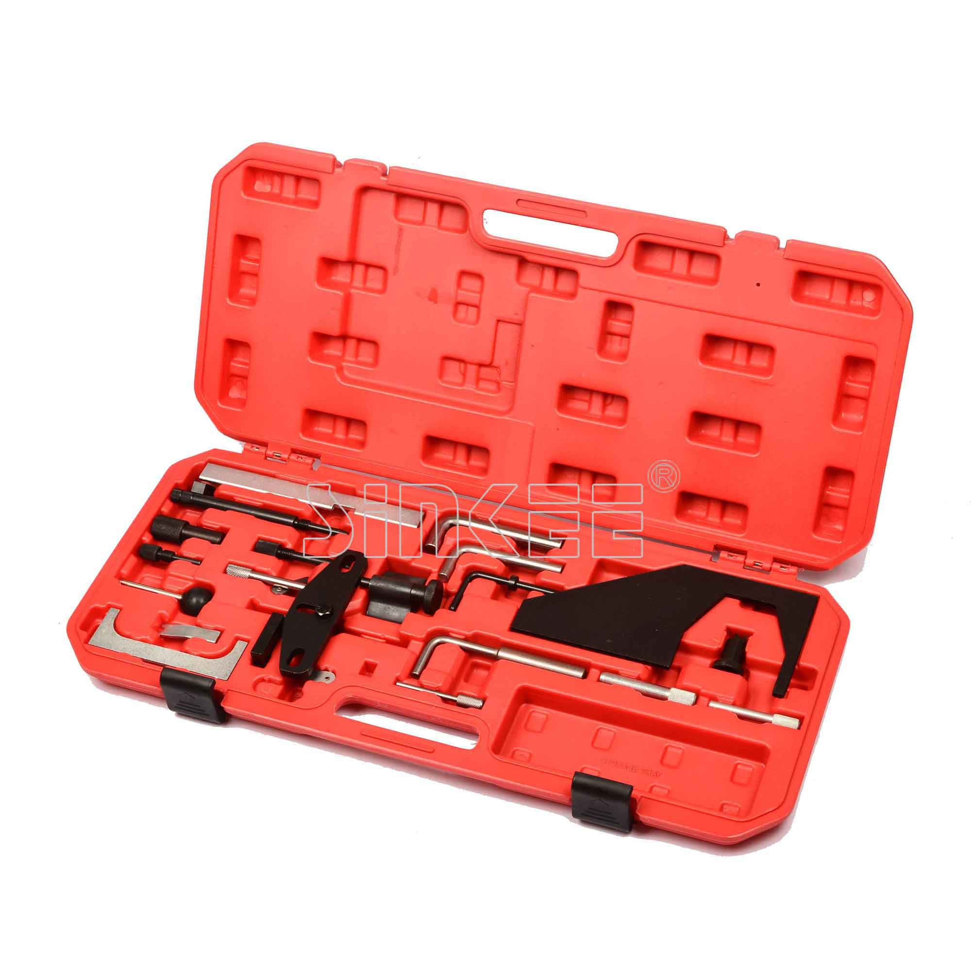 Auto Engine Timing/locking Tool Set For Peugeot Citroen Auto Repair Tools hot selling universal diesel engine timing belt locking tool set for opel for vauxhall auto repair tools