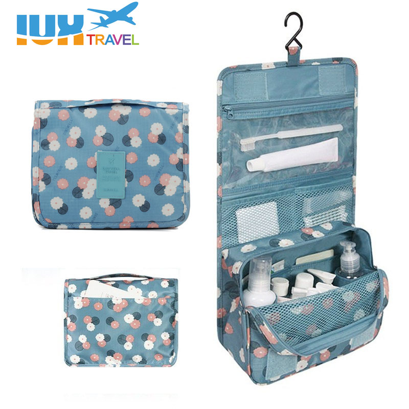 2017 Leopard New Arrival Wash Big Toiletry Women Handbag Travel Hanging Bag Makeup Portable Organizer Large