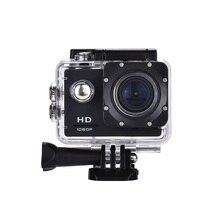 цена на New Arrival!HD Action Camera 30FPS 16MP 30M 2.0' Screen pro Waterproof Mini Helmet Cam bike Car Cam Video go Sports DV