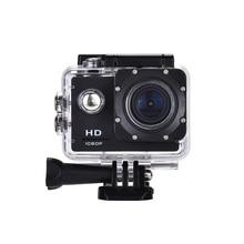 Новое поступление HD Действие Камера 30fps 16mp 30 м 2.0 'Экран Pro Водонепроницаемый мини шлем Cam велосипед автомобилей Cam Video go Спорт DV синий