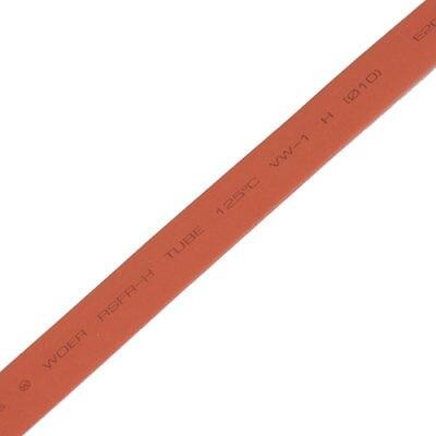 10M 32.8ft 9mm Dia. Red Heat Shrink Tube Shrinkable Tubing 13mm dia heat shrinkable tube shrink tubing 10m red