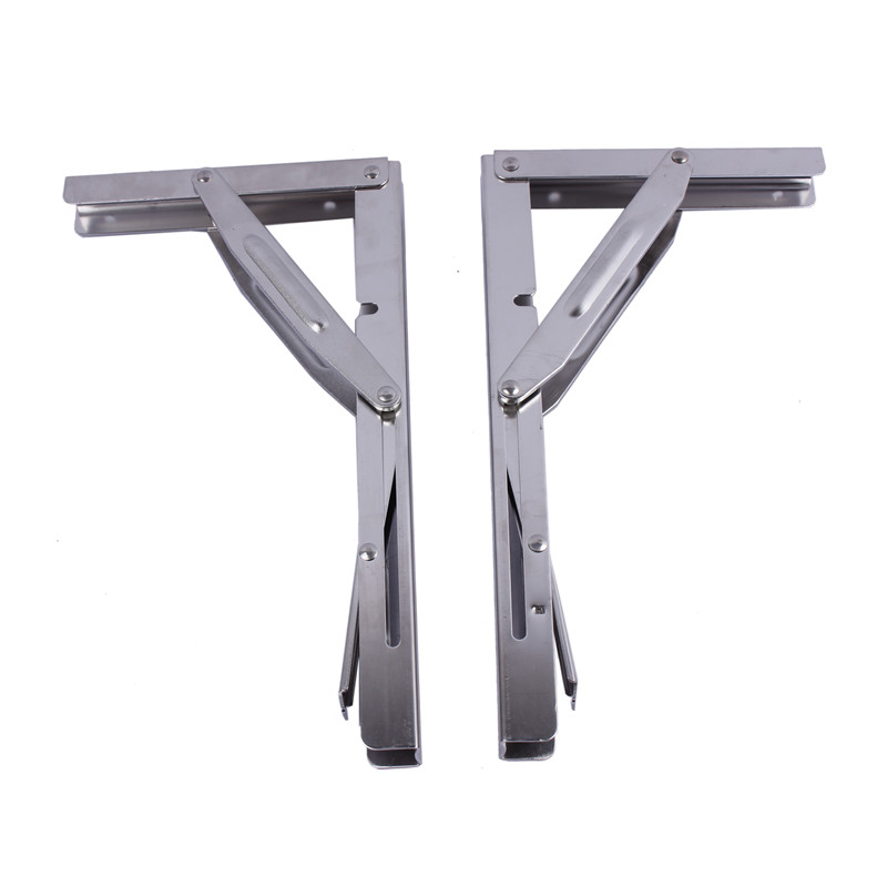 Home Furnishing Heavy Duty Stainless Steel Shelf Bracket 11 Folding Table Seat Brackets 250kg Load Automobiles & Motorcycles