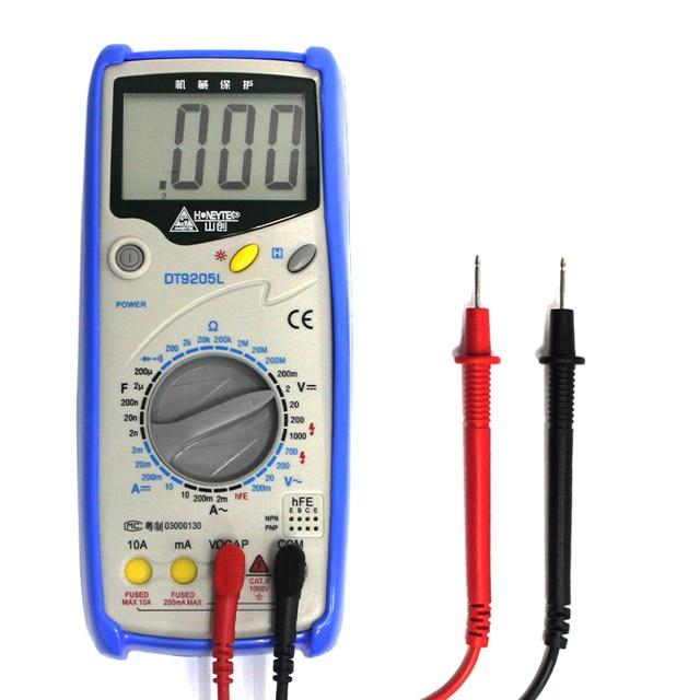Wanptek Analog Multimeter Safety Standard Professional Ohm Test Meter DC AC Voltage Current Resistance Analog Digital Multimeter