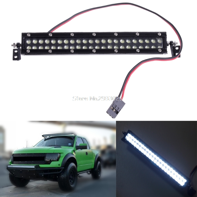 1PC Super bright Car roof LED light 44 LEDs Simulation lighthouse for 1/10 RC Crawler spare parts for RC Car -B116 partol black car roof rack cross bars roof luggage carrier cargo boxes bike rack 45kg 100lbs for honda pilot 2013 2014 2015