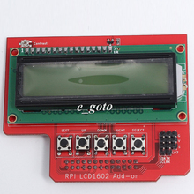 Lcd1602 ADD-ON щит жк-дисплей для пи малины B + / B
