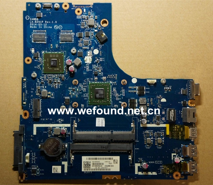 Laptop Motherboard For Lenovo B50-45 LA-B291P, Fully Tested
