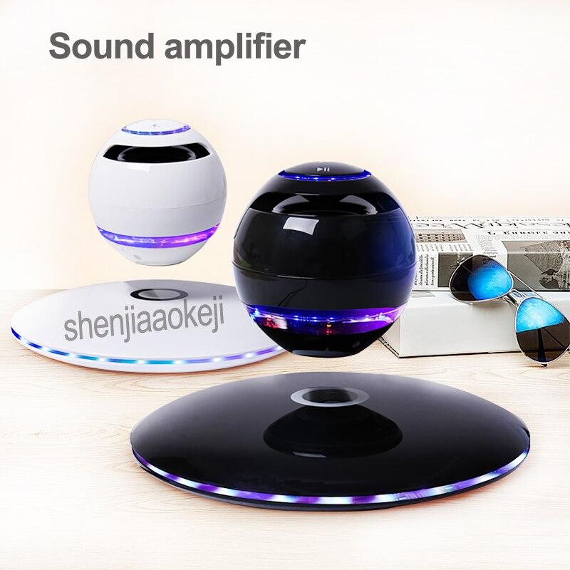 NEW Magnetic Levitation Audio Wireless Bluetooth Speaker Home Sound amplifier Subwoofer Mini Suspended Sound 5v 3w 1pcNEW Magnetic Levitation Audio Wireless Bluetooth Speaker Home Sound amplifier Subwoofer Mini Suspended Sound 5v 3w 1pc
