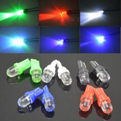10 шт./лот Универсальный T10 LED W5W 158 168 194 501 12 В автомобиля светодиод Сторона Dashboard Клин Лампочки 5 цветов доступны бесплатная доставка