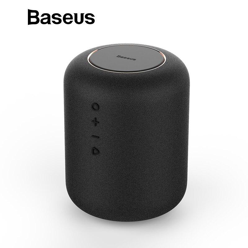 Baseus E50 24 W Altoparlante del Bluetooth Con la funzione del Caricatore Senza Fili Qi caricatore senza fili altoparlante per il iphone X Samsung Xiaomi Huawei