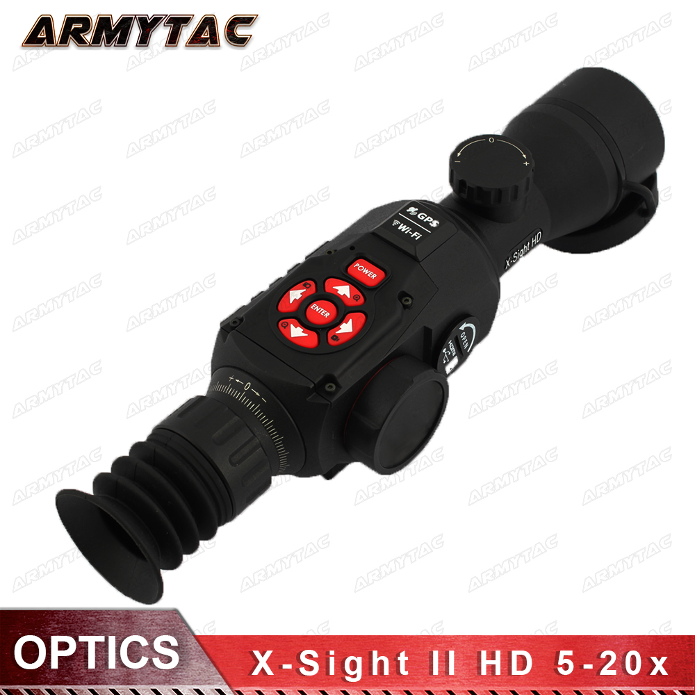 X-Sight II HD 5-20 Smart Day/Night Rifle Scope W/1080p Video, Ballistic Calculator, Rangefinder, WiFi, E-Compass, GPS, Barometer