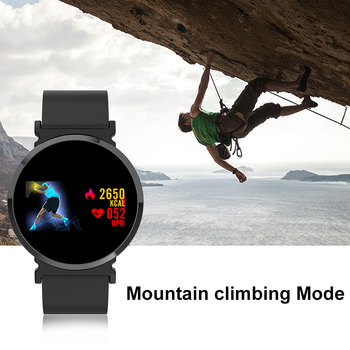 Sports Fitness Watch | SCOMAS Fashion Smart Watch OLED Display Heart Rate Monitor Blood Oxygen Sports Relogio Smartwatch For Men Women
