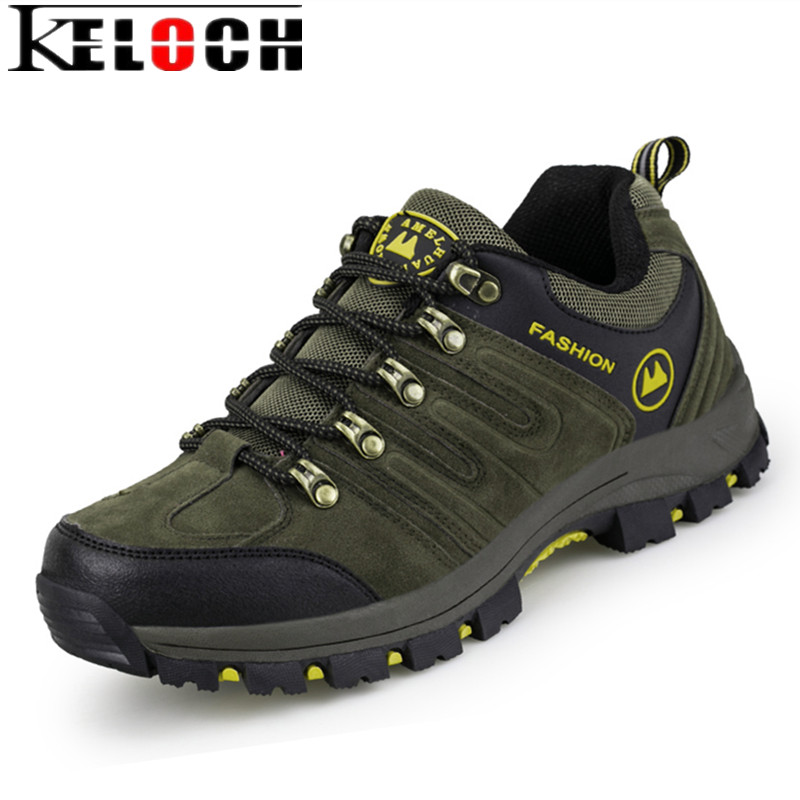 Keloch New Summer Breathable Men Hiking Shoes Climbing Camping Sport Shoes For Men Hunting Athletic Outdoor Waterproof Sneakers male athletic shoes breathable cushioning outdoor sport sneakers men lace up anti skid hunting krasovki zapatilla hiking shoes