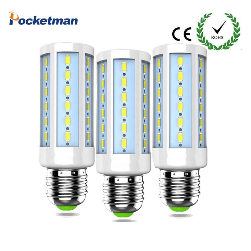 Corn Light Bulb 50W 40W 30W 25W 15W 12W 7W E27 Led Lamps 220V 110V bombillas led Lights Corn Led Bulb Chandelier Lighting z40