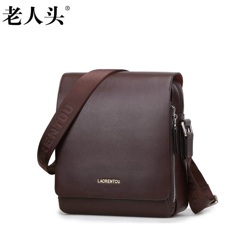 ФОТО LAORENTOU high-quality fashion luxury brand 2017 new male version of  shoulder bag genuine leather bag counter genuine, we