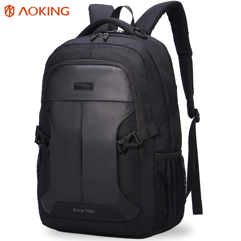 2018 Aoking Backpacks Men's Business Mochila for Laptop 14-15 Inch Notebook Computer Bags çanta Man shpinës Shkolla Rucksack