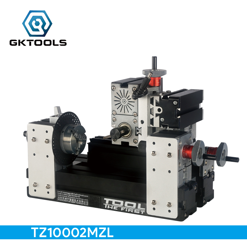 TZ10002MZL Big Power Mini Metal Gear Milling Machine A, 60W 12000r/min Motor, Standardized children education,BEST Gift big power mini metal lathe machine tz20002m best gift for children and students