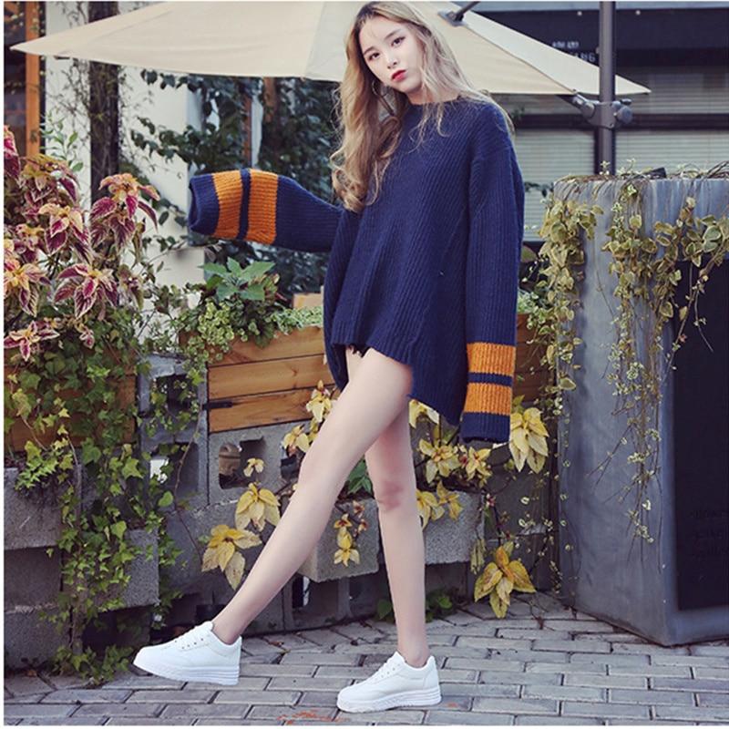 Mode Kvinnor Sneakers Kvinnor Tillfälliga Skor Bekväm Öka Soles - Damskor - Foto 2