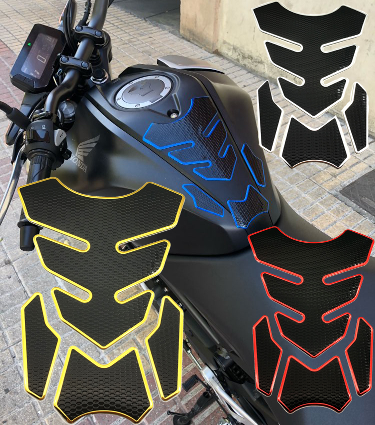 3D Motorcycle Gas Fuel Oil Tank Pad Protector Decals Sticker Case For YAMAHA YZF-R1 R6 R15 R25 R3 MT03 MT07 MT09 FZ6 FZ8 FZ1 XJ6