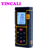 2 PCS/lot High Precision Handheld Laser Distance Meter SW E70 Laser Rangefinder 70M storage 100 units also measure Area Volume
