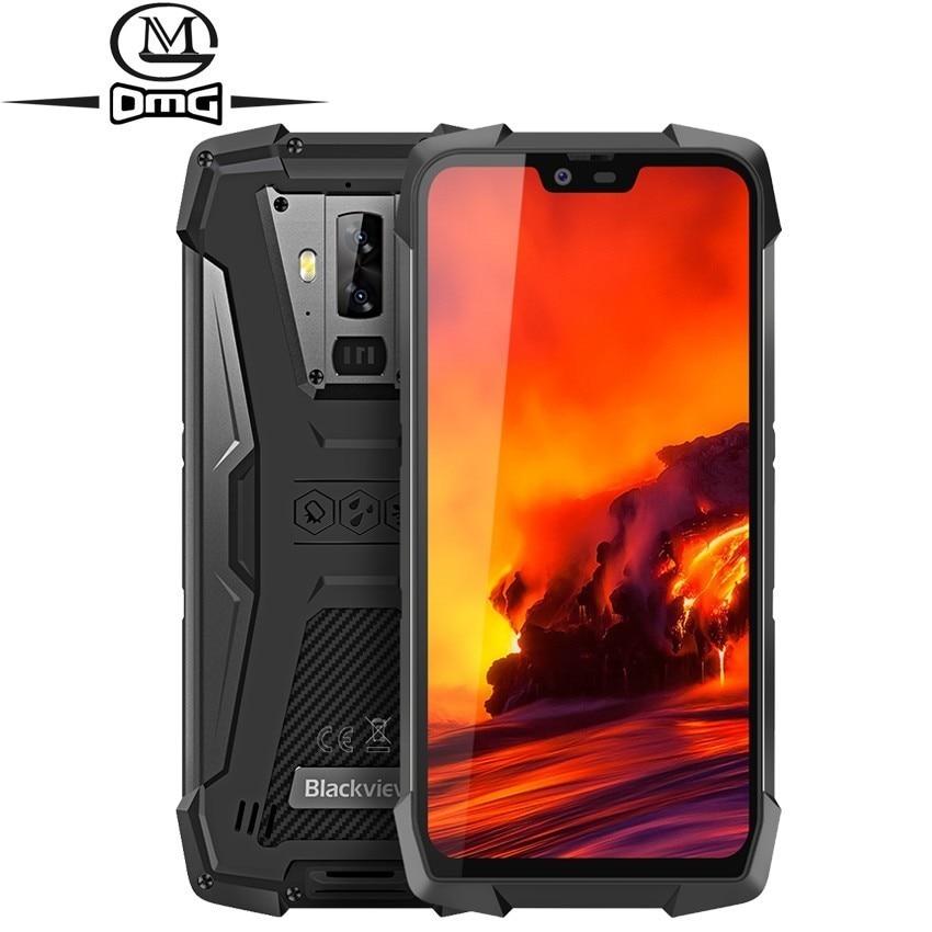 Blackview BV9700 Pro IP68/IP69K 6GB RAM 128GB ROM téléphone portable robuste Helio P70 Octa core téléphones 5.84