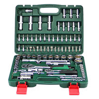 Quality 94pcs CRV Socket Sets with 1/2 &1/4 Ratchet Wrench Car Repair Tools Kit Spanner Set Hand Combination Tool Kit
