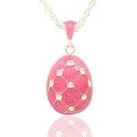 Thích hợp cho tất cả các thương hiệu của màu hồng Nga egg pendant vòng cổ sản xuất đồ trang sức, phụ nữ handmade jewelry