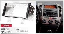 Çerçeve + android 6.0 araba dvd oynatıcı kia ceed 2007 için 2008 2009 multimedya bant kaydedici 4G lite stereo kafa üniteleri radyo gps navi