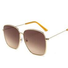 New Fashion Zonnebril Dames Vintage Frame Aviation Sunglasses