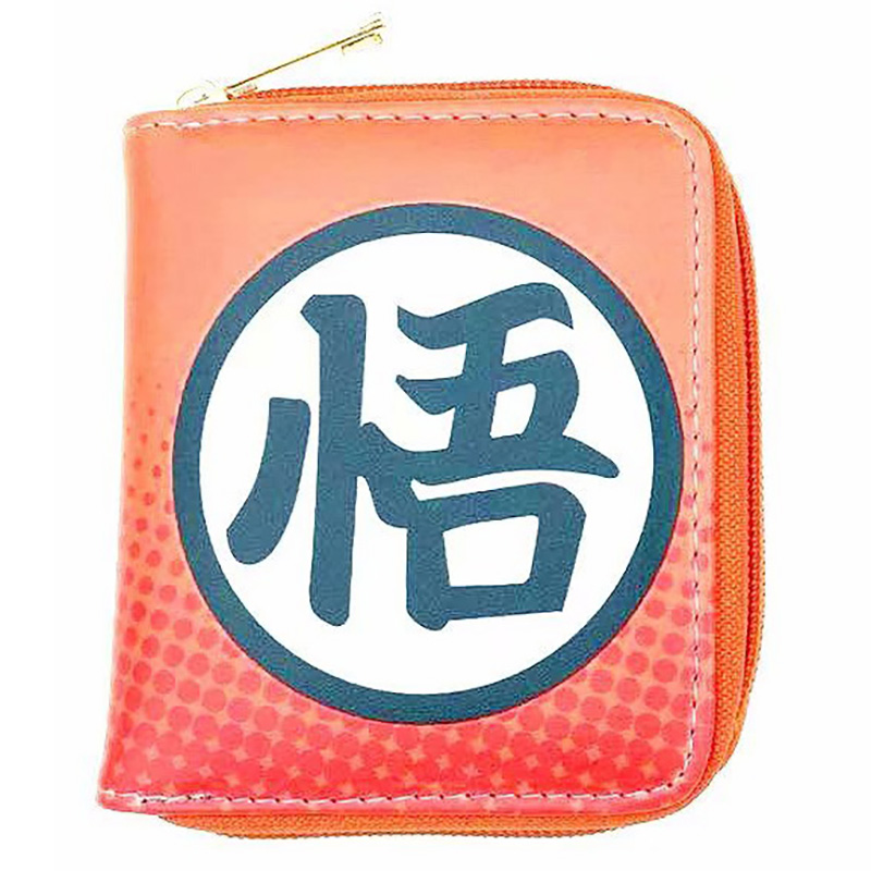 Anime Dragon Ball Z Mini Wallets Japanese Cartoon Movies Goku Leather Purse Zipper Coin Pocket Pouch Gift Young Women Men Wallet dragon ball z wallets men women creative gift purse standard short wallet leather money organizer bags cartoon anime wallet