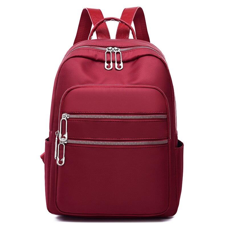 Nouveau femmes sac à dos Oxford étanche Nylon adolescent collège sacs d'école mode sac à main sac à dos Mochila filles voyage sacs à dos