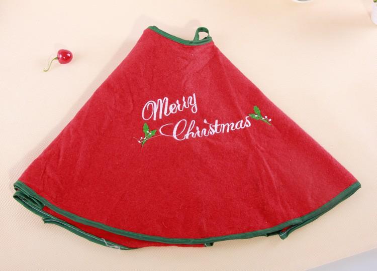 christmas skirt for tree (9)