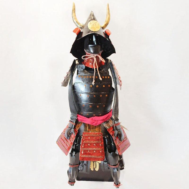 Starožitné japonské železné brnění / Sengoku Samurai brnění Kuroda Nagamasa model / dekorace