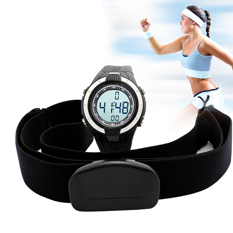 2016 New Wireless Women Heart Rate Monitor watch Fitness Women Sport Watches Ladies Chest Strap Outdoor