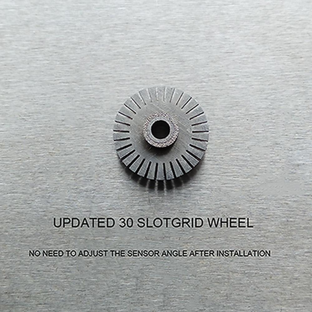 30 Slot Steering Wheel Optical Encoder For Logitech G27 / Driving Force GT 304 Stainless Steel Steering Wheel Optical Encoder