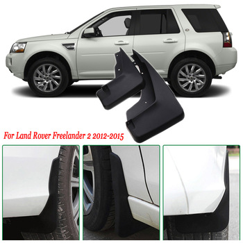 4pcs Premium Heavy Duty Molded Splash Mud Flaps Guards Fenders For Land Rover Freelander 2 2012-2015