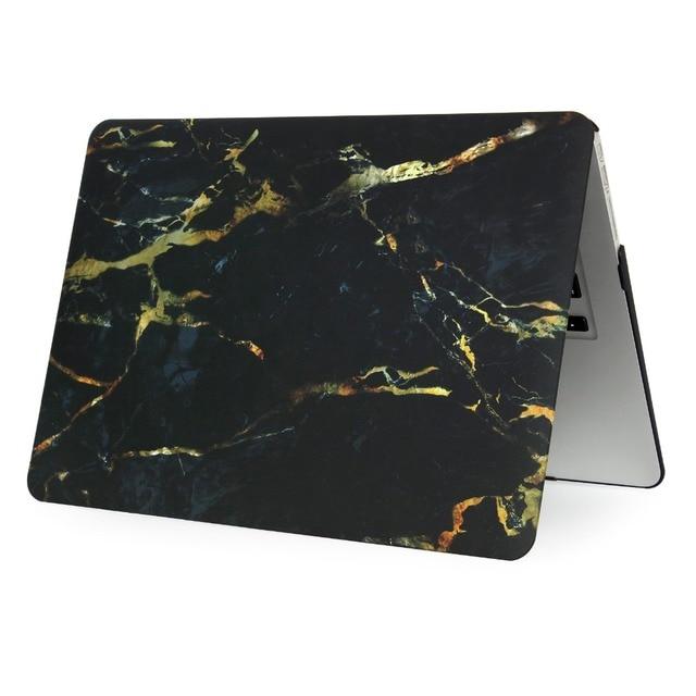 EGYAL Marble Matte Hard Case for MacBook 3