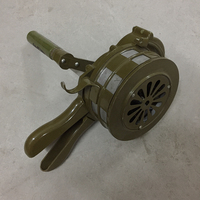 ORIGINAL MILITARY HAND EMERGENCY SIGNALLING APPARATUS RARE SIREN ALERTOR IN ARMY USE