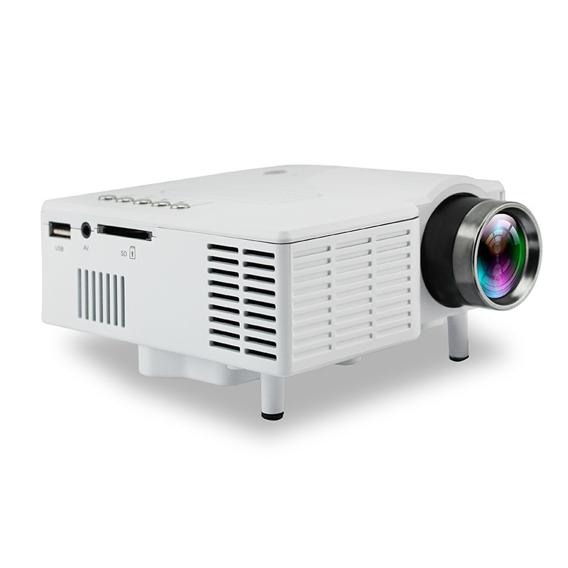 Mini Projector Wired Sync Display More stable Home Theatre Movie AC3 HDMI VGA USB 3D HD Mini Household projector Portable poner saund dlp100w pocket hd portable dlp projector micro wireless multi screen mini led battery hdmi usb portable home cinema