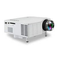 Mini Projector Wired Sync Display More Stable Home Theatre Movie AC3 HDMI VGA USB 3D HD