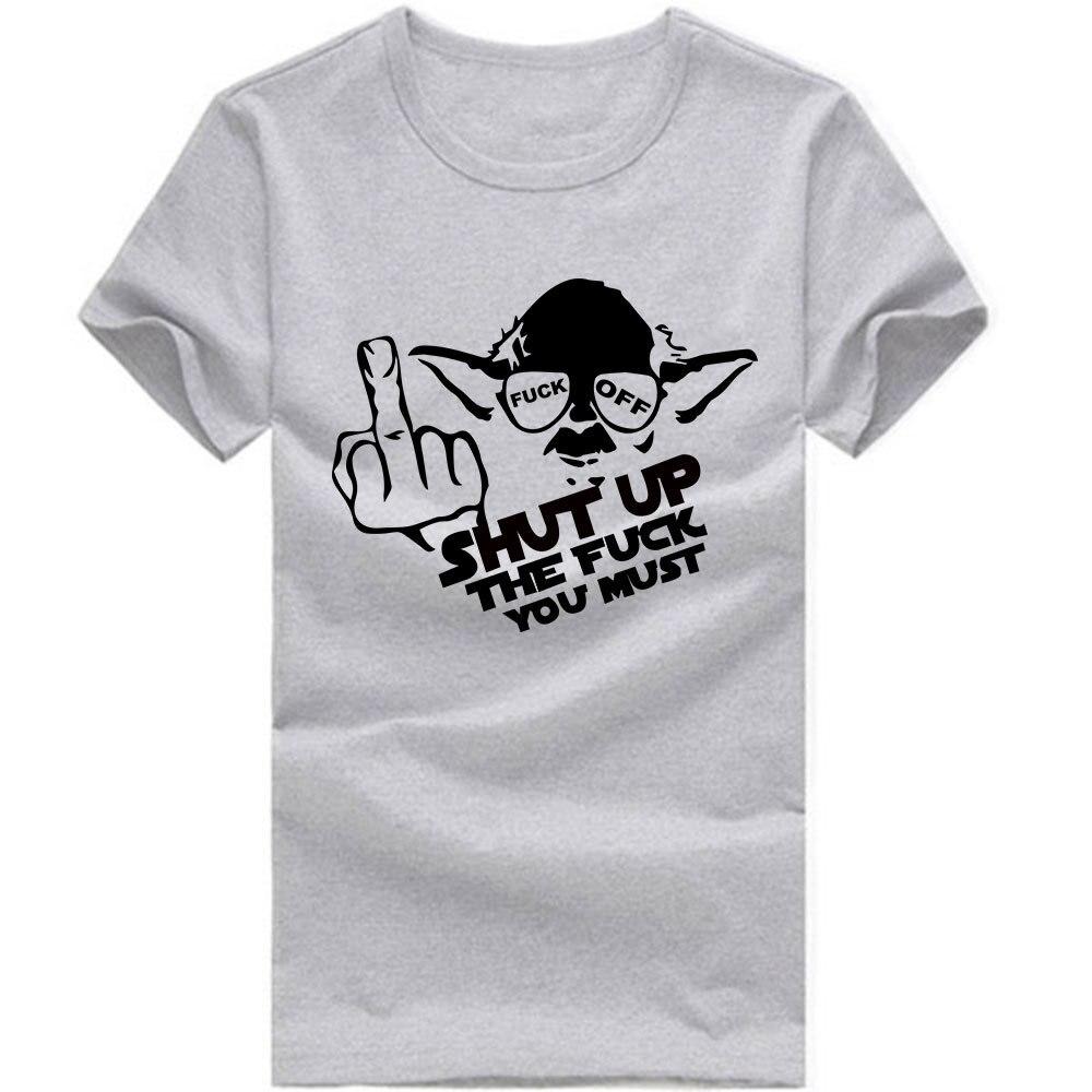 funny star wars t shirts men short sleeve o neck man t shirt