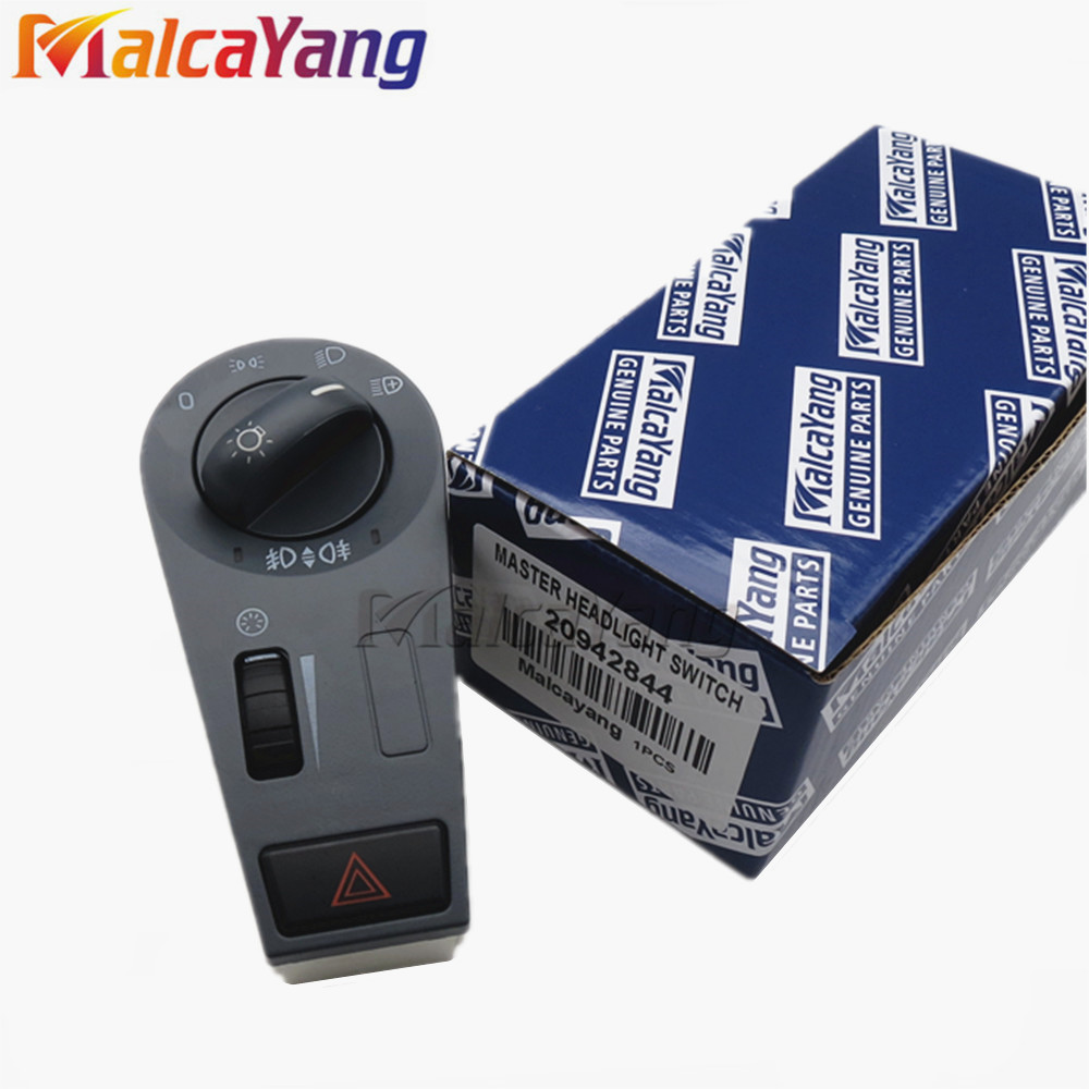 Car Styling Headlight Lamp Power Switch 50-104-003 20953569 20466306 20942844 For Volvo Truck FH12 FM VNL High Quality