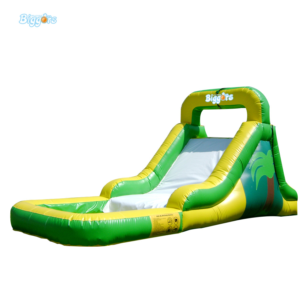 Commercial Inflatable Slide with Big Pool Giant Inflatable Water Slide Inflatable Pool Slide домик из картона сказочный замок картонный папа