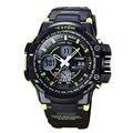 Homens Relógio do esporte 2017 Relógio Masculino de Luxo LED Digital-relógio Automático Homens Relógio Moda Relógios Relógio de Qualidade relógio de Pulso À Prova D' Água