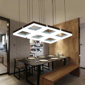 Moderno colgante led iluminación Real lámpara Lamparas para cocina ...