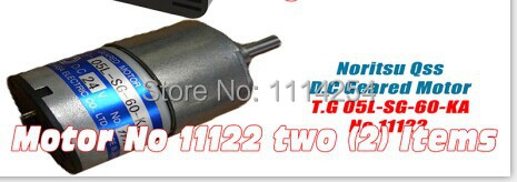 Motor No 11122 T.G 05L-SG-60-KA x2 Noritsu photolab part used free shipping 20pcs lot sbt150 06j sbt15006 to 220f schottky rectifier new original